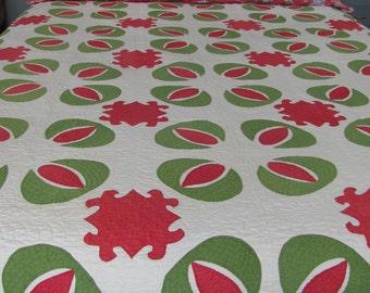 Pomegranate Antique Quilt