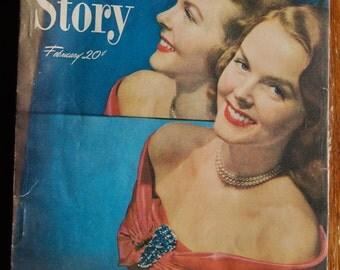 True Story Women's Magazine February 1949