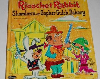 Ricochet Rabbit Children's Book 1964 - Hanna Barbera