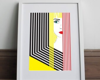 Beyond - Art print