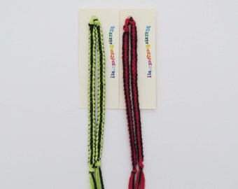 Friendship Bracelet in solid colors