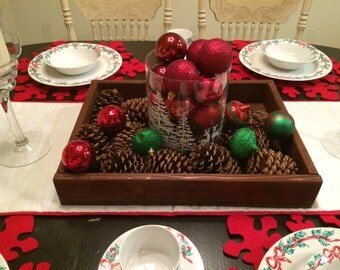 Handmade Centerpiece Tray