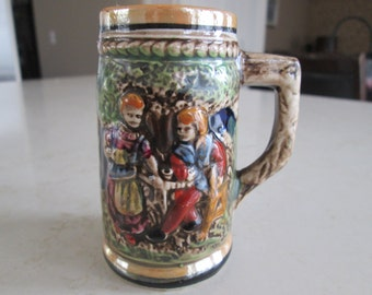 Miniature Vintage Beer Stein Made in Japan