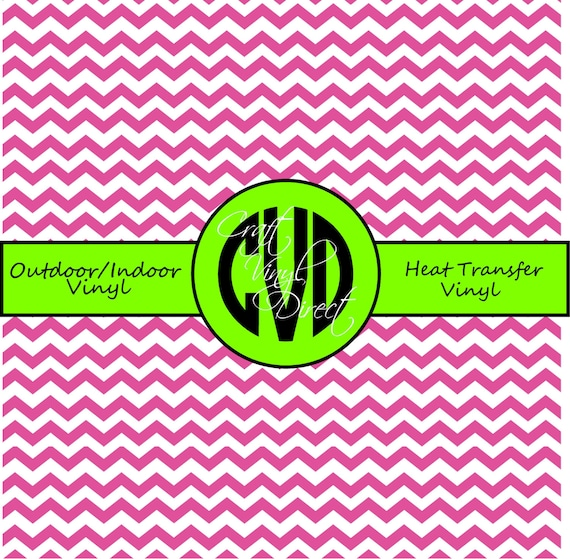 Chevron Craft and Heat Transfer Vinyl \\ Small Scale