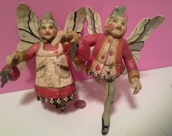 Wooden fairies