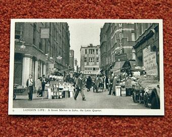 London Life by Charles Skilton - Soho Street Market
