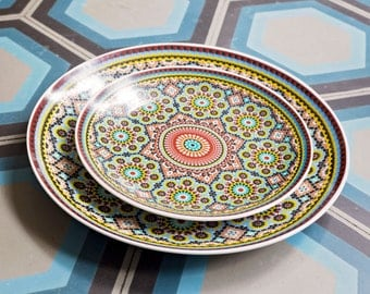 Moroccan Plate  (3 pack)