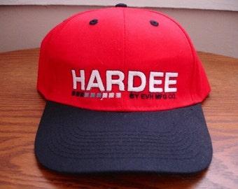 Vintage Hardee Snapback Hat