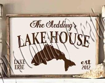 Lake House Established  SVG, PNG, JPEG