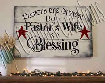 Pastor's Wife is a Blessing   SVG, PNG, JPEG