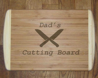 Cutting board Personalized Engraved - fathers day, birthday, anniversary