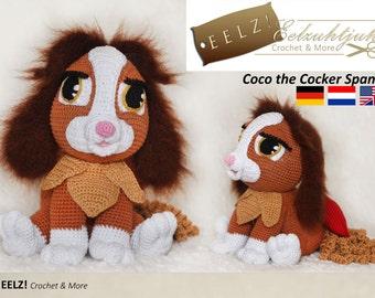 Coco the Cocker Spaniel - Crochet Pattern