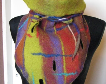felted wrap