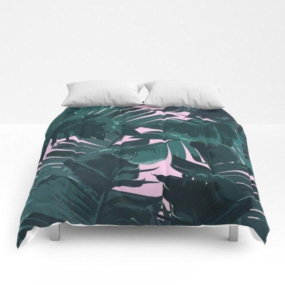 Green Duvet Cover Full Queen King Duvet Coastal Bedroom