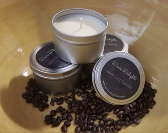 Java (Coffee) Soy Candle, 8 oz.