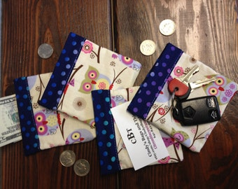Owl - Snap close coin purse