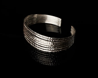 Silver Cuff Bracelet, Mancora
