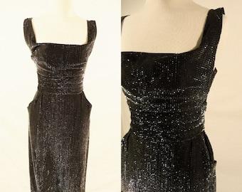 ON SALE 1950's Party Dress,