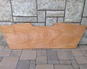 Wood Transom