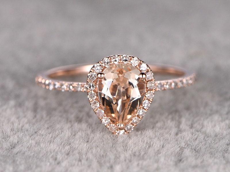 Rose Gold Morganite Engagement Rings South Africa