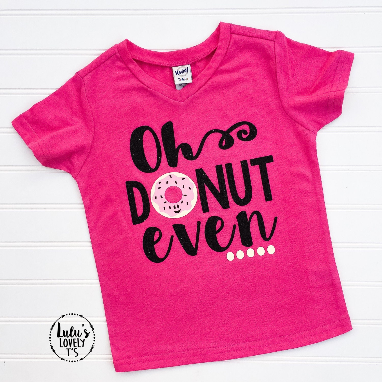 Oh Donut Even Donut Shirt Donut Tee Donut Tshirt By