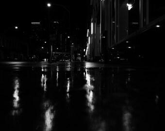 Rainy City at Night