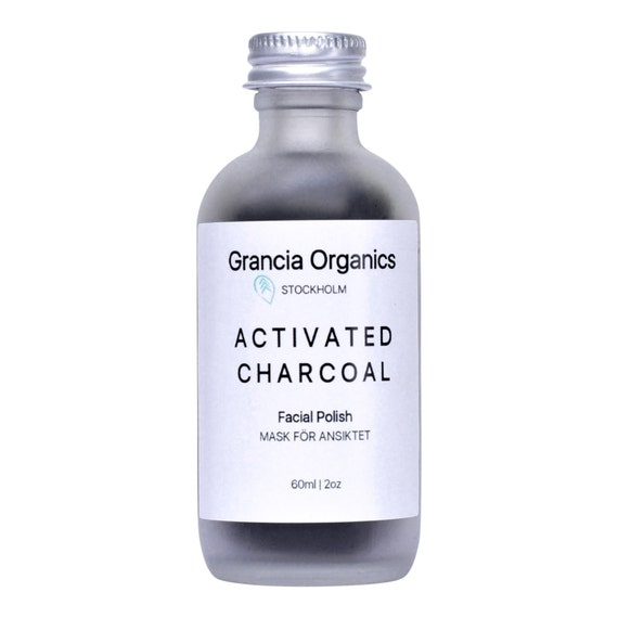 Organic Activated Charcoal Face Mask: Activated Charcoal Facial Polish Organic Facial Mask For