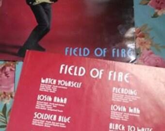 Vintage Richard Lloyd Field of Fire vinyl record!