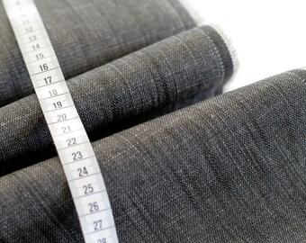 Evergreen Slate Texture Denim - Denim Collection - HALF YARD - Art Gallery Fabric - Cotton Fabric - Quilting Fabric