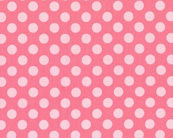 Petal Ta Dot  - HALF YARD - Michael Miller - Cotton Fabric - Quilting Fabric