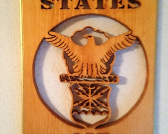 U.S. Air Force Plaque