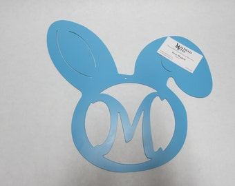 Easter Door and Wall Hanger Custom CNC Plasma Cut Metal Art