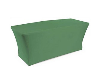 Green Stretch Tablecloth for Trade Show Display Table 6 ft. BRAND NEW in Package