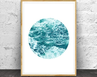 Sea Print, Sea Wall Art, Sea Photography, Sea art, Ocean Print, Ocean Art, Ocean Decor, Sea Decor,  Ocean Photography, Ocean Waves Print