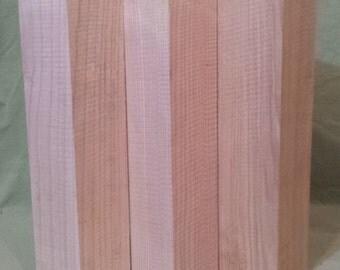 Set of 3! Ash spindle turning blanks lumber wood