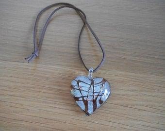 Glass Pendant Necklace