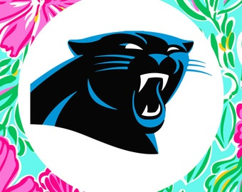 Carolina Panthers Multi-Pack Cutting Files in Svg, Eps, Dxf, Png and Jpg for Cricut & Silhouette | NFL Football Graphics | Super Bowl Decals
