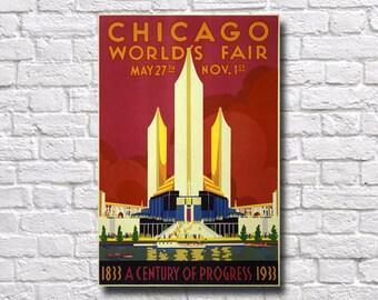 Chicago World's Fair Poster - #0524