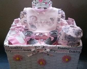 Baby shower gift set.