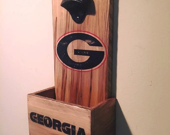 UGA Bottle Opener