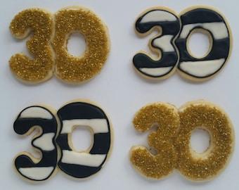 Number Sugar Cookies, 30 cookies, 21 Cookies, 16 Cookies, 40 Cookies, 50 cookies, 60 cookies, Number cookies