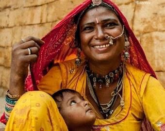Rajasthani Lady Nomad (Banjaran)