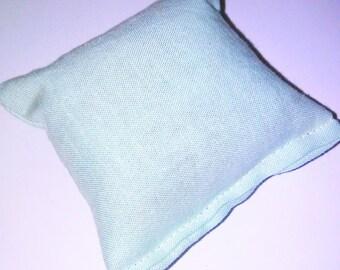 Light mint green catnip pillow!