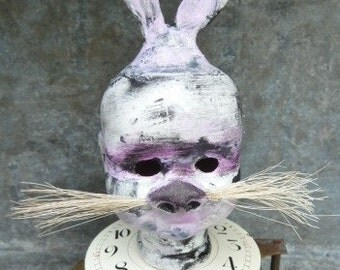 W. Rabbit...............an altered doll assemblage
