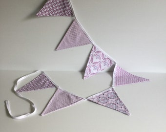 Bunting /Nursery Decor/ Baby Girl/ Vintage Style
