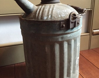 Rustic Oil Can