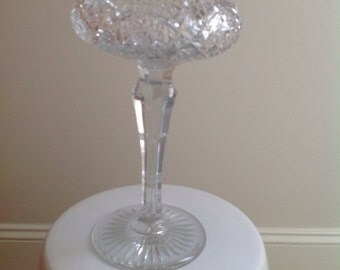Antique American Brilliant Cut Glass Compote/Dish