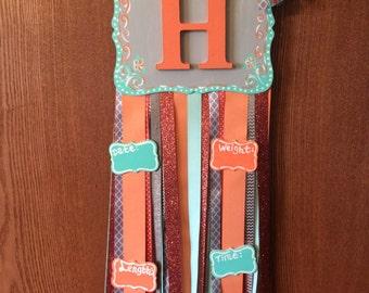 Coral ans Mint Baby Door Hangers, Girl, Hospital Door Hanger