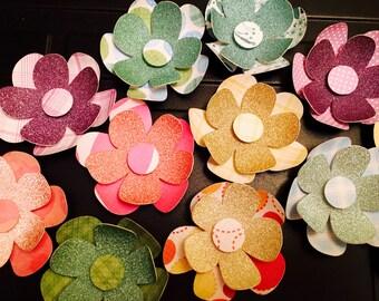 3D Wall Flowers