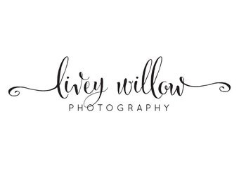 Premade logo photography / premade logo calligraphy / boutique logo / premade logo design / jewelry logo / small business logo branding